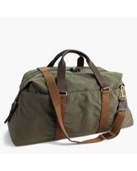 J.Crew | Green Abingdon Weekender Bag for Men | Lyst