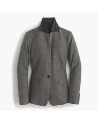 J.Crew | Black Collection Regent Blazer In English Glen Plaid Wool | Lyst