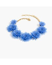 J.Crew | Multicolor Blossom Necklace | Lyst