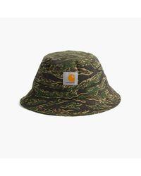 J.Crew | Green Carhartt Work In Progress Bucket Hat for Men | Lyst