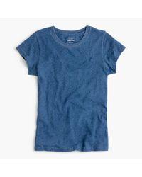 J.Crew | Blue New Vintage Cotton T-shirt In Indigo | Lyst