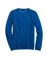 J.Crew - Blue Italian Featherweight Cashmere Long-sleeve T-shirt - Lyst