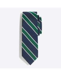 J.Crew - Multicolor Mercantile Silk Rugby-striped Tie for Men - Lyst