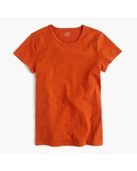 J.Crew   Brown Short-sleeve Painter T-shirt   Lyst