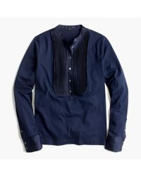 J.Crew | Blue Tuxedo-inspired Long-sleeve T-shirt for Men | Lyst