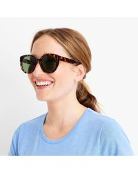 J.Crew - Green Oversized Sunglasses - Lyst