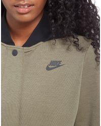 Nike | Multicolor Tech Fleece Destroyer Bomber Jacket | Lyst