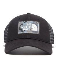 The North Face - Black Mudder Trucker Cap - Lyst