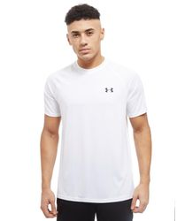 Under Armour - White Tech T-shirt for Men - Lyst