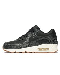 Nike | Black Air Max 90 Premium for Men | Lyst