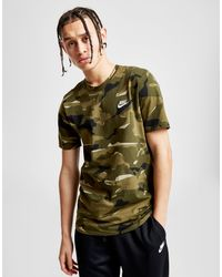 c078f3c57 Lyst - Nike Sportswear Camo T-shirt in Green for Men