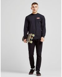70030991e2 Lyst - Vans Long Sleeve Redbox T-shirt in Black for Men