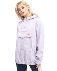 Ellesse | Purple Half Zip Jacket | Lyst