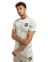 Nike - White Camo Aop T-shirt for Men - Lyst