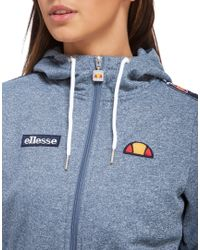 Ellesse - Gray Taped Full-zip Hoody - Lyst