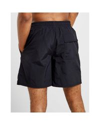 Lyle & Scott - Black Core Swim Shorts for Men - Lyst
