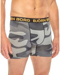 Björn Borg - Gray Performance Shorts for Men - Lyst