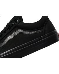 Vans | Black Old Skool for Men | Lyst