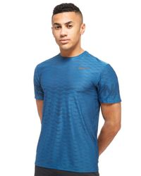 Nike - Blue Zonal Cooling T-shirt for Men - Lyst