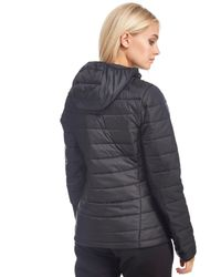 The North Face - Black Padded Jacket - Lyst