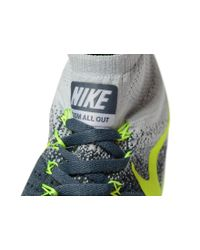 Nike | Gray Zoom All Out Flyknit for Men | Lyst