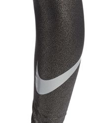 Nike - Black Pro Sparkle Training Tights - Lyst