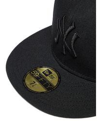 KTZ - Black Mlb New York Yankees 59fifty Fitted Cap for Men - Lyst