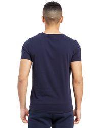 Tommy Hilfiger - Blue Core Logo T-shirt for Men - Lyst