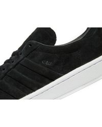 Adidas Originals - Black Campus Stitch And Turn for Men - Lyst