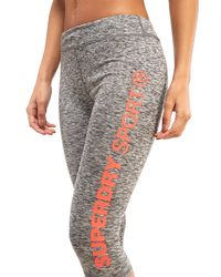 Superdry - Gray Core Capris - Lyst
