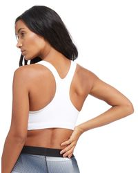 Nike - White Swoosh Futura Sports Bra - Lyst