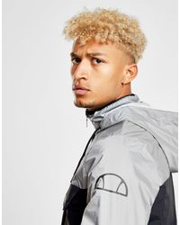 Ellesse - Black Volks Reflective Colour Block Jacket for Men - Lyst
