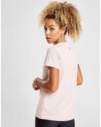 Under Armour - Pink Tech Short Sleeve T-shirt - Lyst