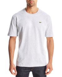 Lacoste - Gray Croc T-shirt for Men - Lyst