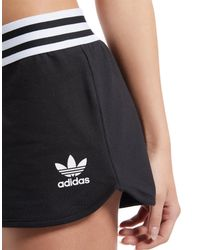 Adidas Originals Black Runner Shorts
