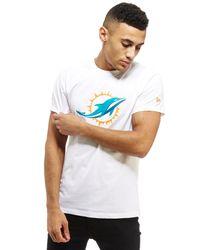 KTZ - White Nfl Miami Dolphins T-shirt for Men - Lyst
