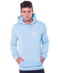 11 Degrees Blue Core Hoody for men