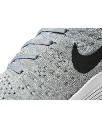 Nike - Gray Lunarepic Low Flyknit 2 Womens - Lyst