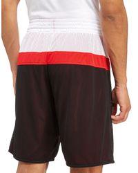 Adidas Red Chicago Bulls Reversible Shorts for men