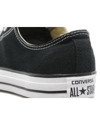 Converse - Black All Star Ox for Men - Lyst