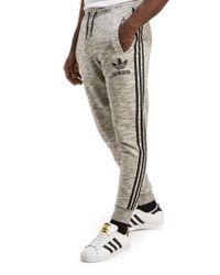 Adidas Originals - Gray California Cuff Track Pants for Men - Lyst