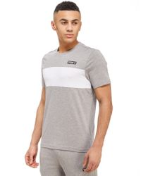 Reebok - Gray Classic Panel T-shirt for Men - Lyst