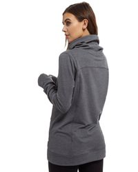 Under Armour - Gray Featherweight Fleece Slouchy Popover - Lyst