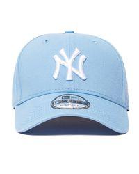 d67f0b7b6e4 Lyst - KTZ 9forty New York Yankees Baseball Cap in Blue for Men