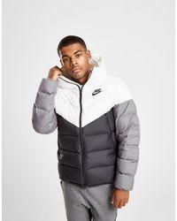 Nike Down Fill Bubble Jacket in Black for Men - Lyst f2aa59f63