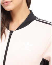Adidas Originals | Pink Supergirl Track Top | Lyst