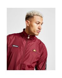 Ellesse - Red Castes Tape Woven Tracksuit for Men - Lyst