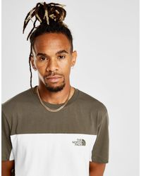 12220dd0 Lyst - The North Face Colour Block T-shirt for Men