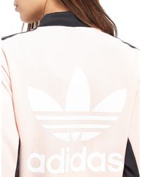 Adidas Originals - Pink Supergirl Track Top - Lyst