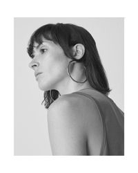 Jenny Bird - Metallic Lola Hoops - Large - Lyst